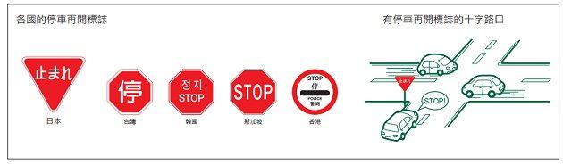 停車再開時需完全停止,遇上平交道時一定要停車再開