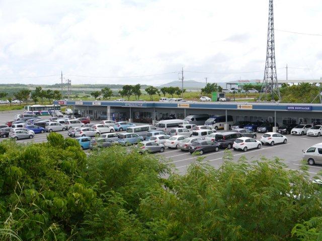 石垣機場附近的租車公司店舗【日産、ORIX、OTS、Paradise租車公司】