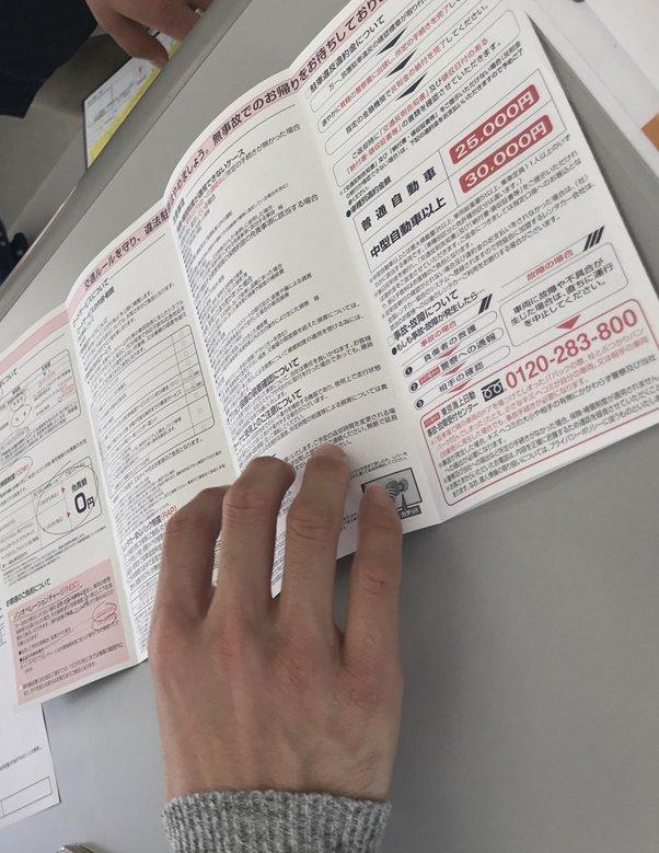 確認好個人證件後,店家通常也會影印做備份,之後會詳細解說租車的保險內容,依照需求,而有不同的保險方案